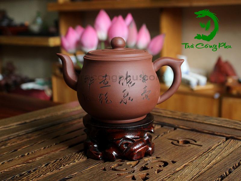 Ấm Tử Sa Phan Hồ (Biến Thể) - ATS590