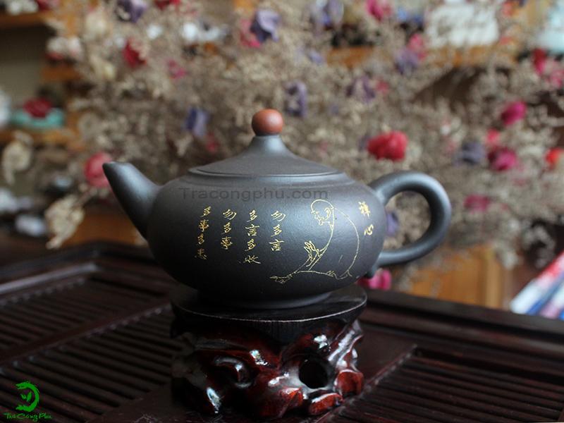 Ấm Tử Sa Nghi Hưng Thiền Tâm - ATS861