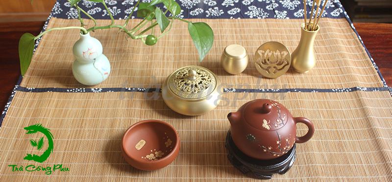 Bộ trà độc ẩm set up