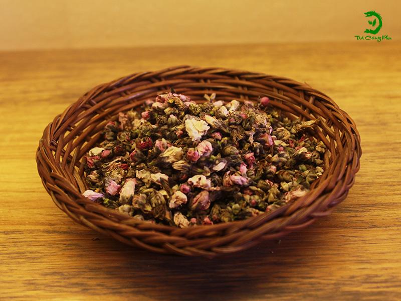 trà Hoa đào  thảo mộc