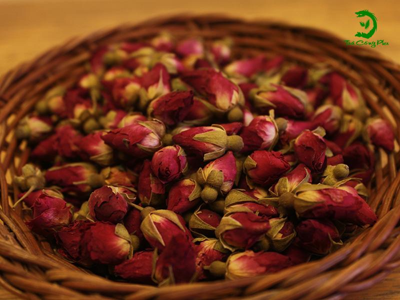 trà hoa hồng nhập khẩu đài loan