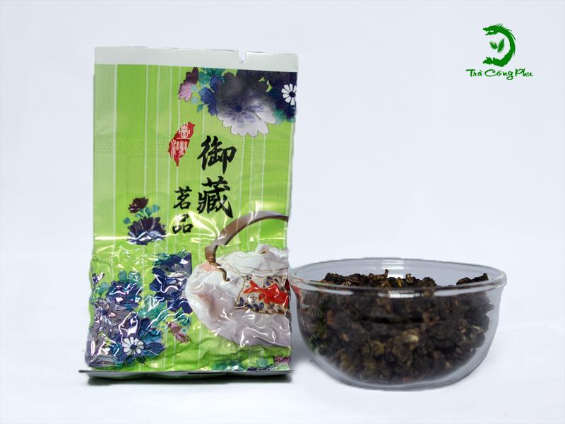 trà ô long đen
